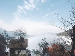 Ngắm mây ở